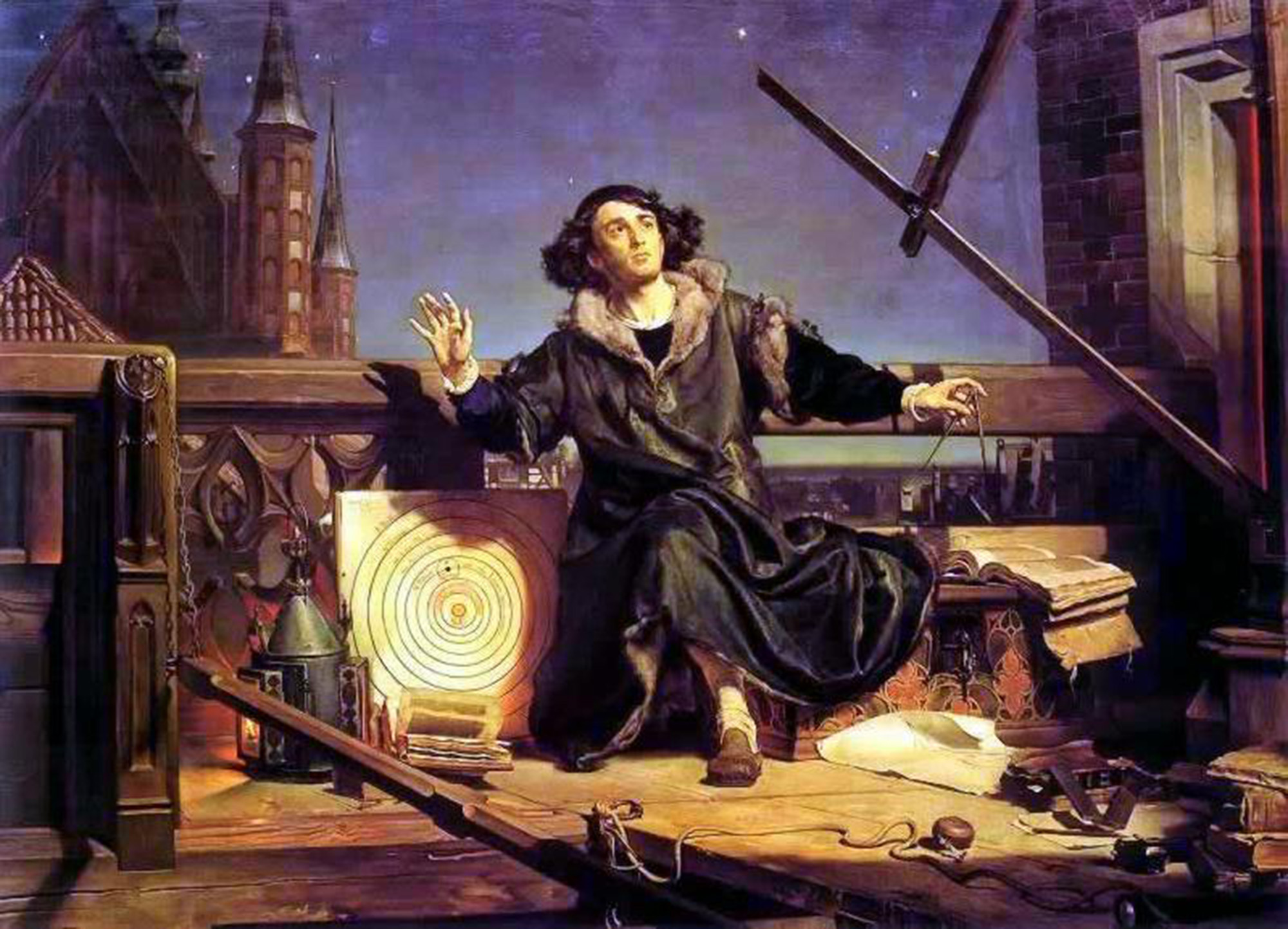 Astronomer Copernicus, or Conversations with God.  Jan Matejko, 1873