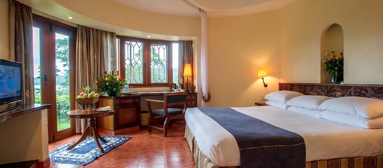 Upgraded luxury accommodations