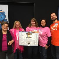 Blossoms of Hope Board and Staff at the Brackets for Good Pep Rally with Matt from Brackets!