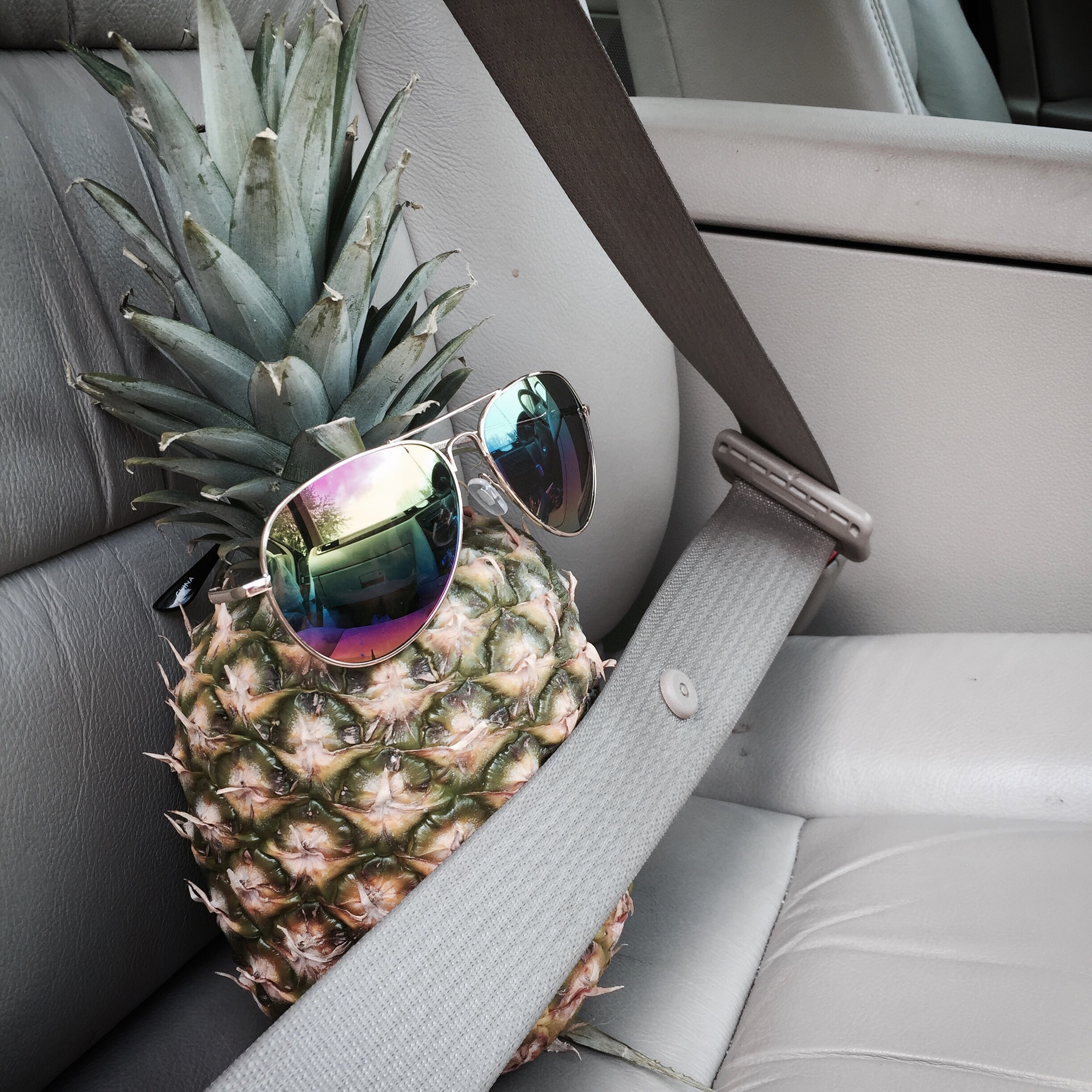 I may be jealous because my pineapple can pull them off better than I can.