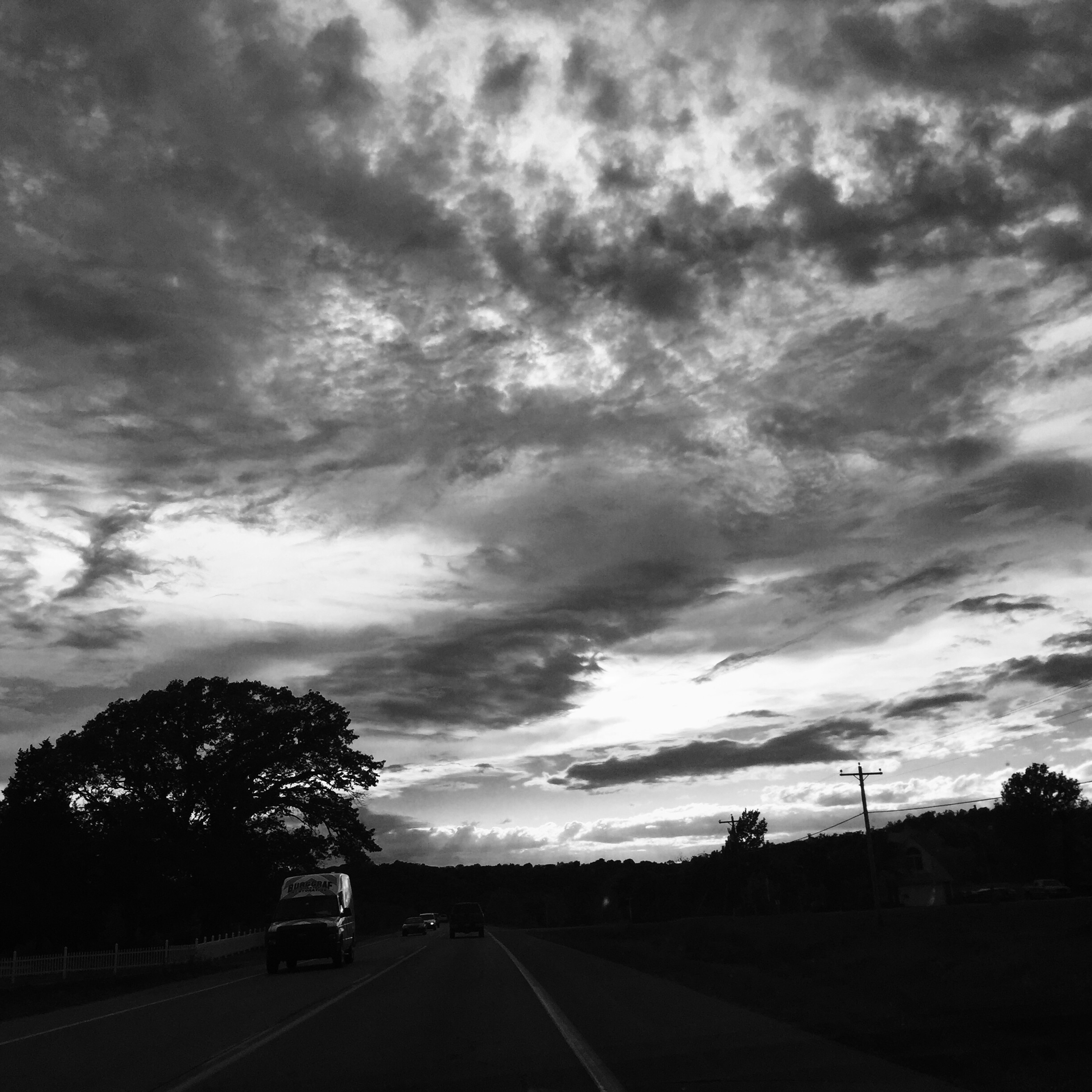 I drove from Catoosa to Tulsa, Tulsa to Owasso, Owasso to Claremore, Claremore to Collinsville, Collinsville back home to Catoosa last Thursday. The Claremore to Collinsville trip is when I caught the beginning of the sunset. But also sorry for all the driving places, earth.