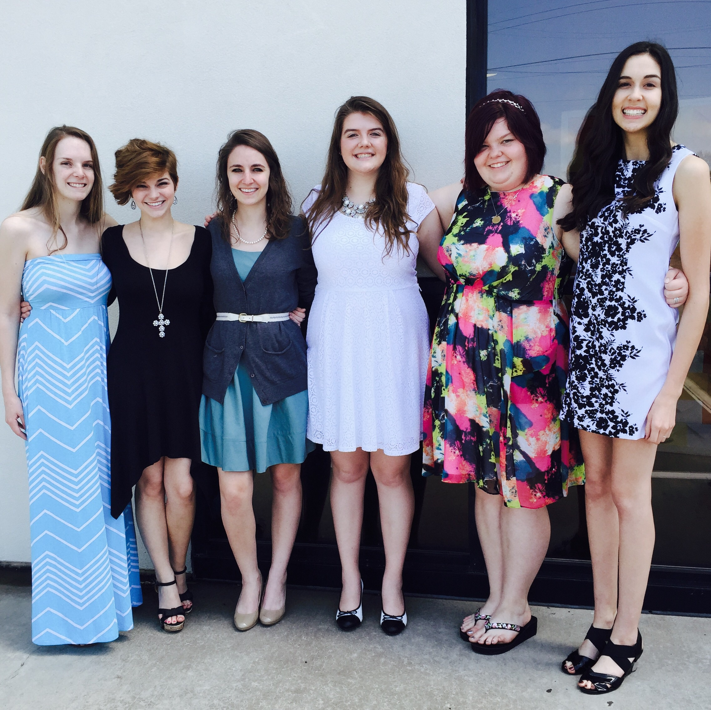 This picture is filled with some of the most wonderful people you will every meet. These ladies are my heroes.