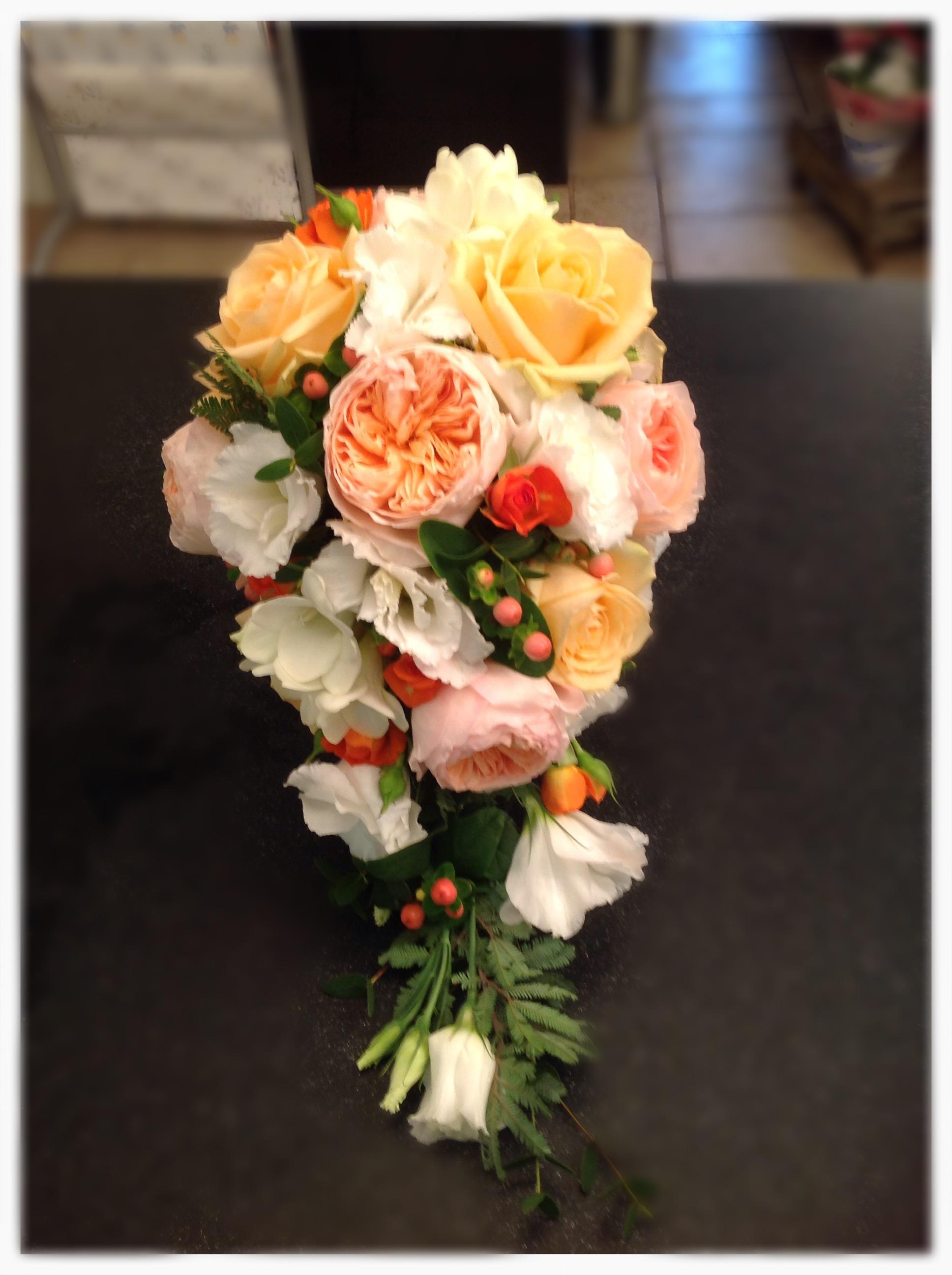 Bridal shower bouquet