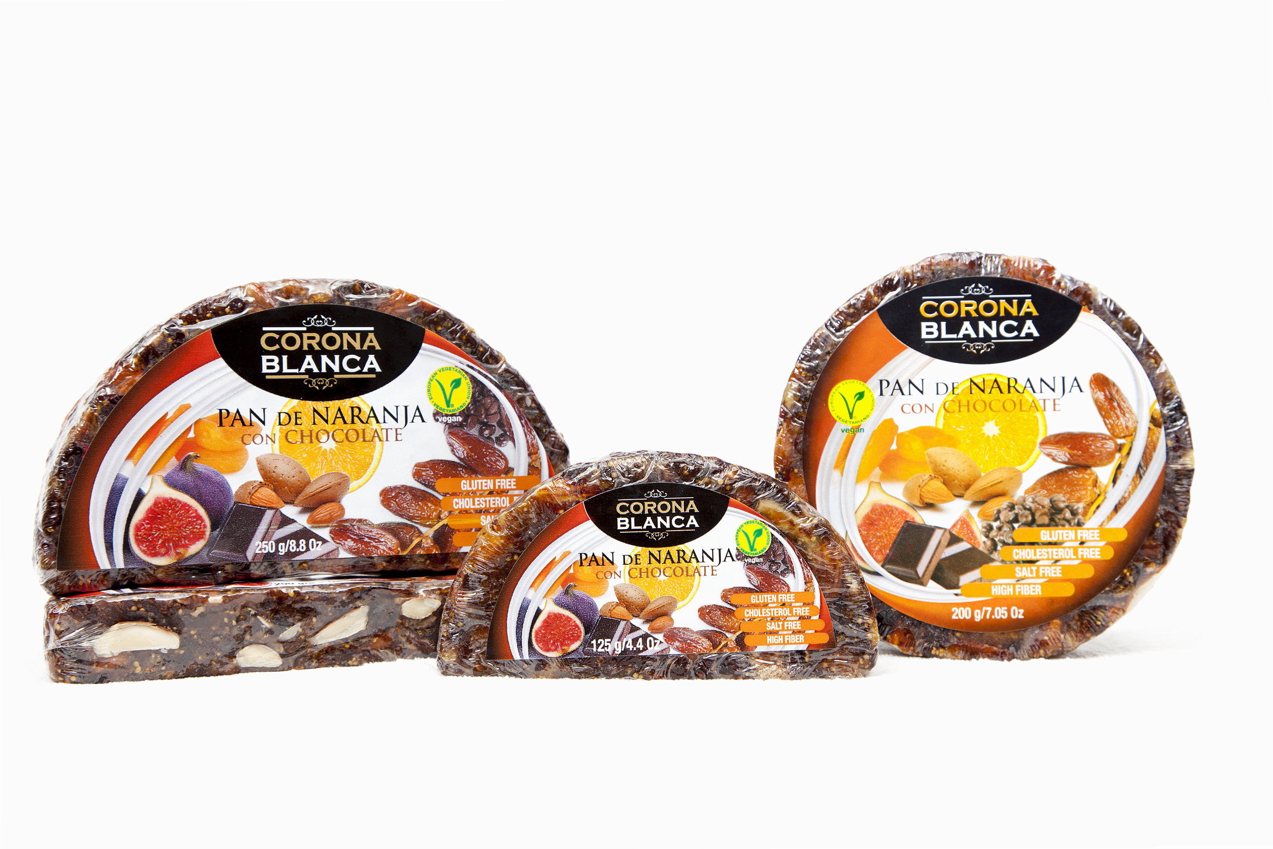 Fruit Fusion:  Orange, fig & date bread with chocolate