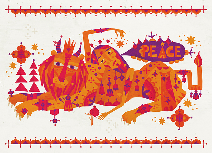 """A Wish For Peace"" Holiday Design 2018"