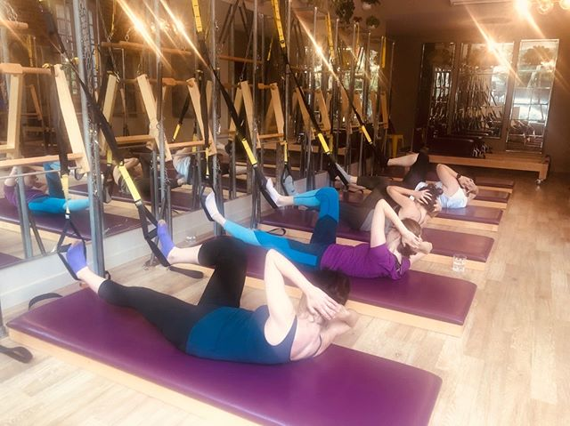 Criss cross in the TRX. Not for the faint-hearted. Wednesdays 9am / Sundays 5pm.