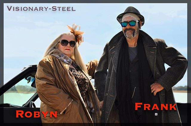 """From the upcoming video release of """"Frank"""", New track on the latest album by Visionary-Steel, To be released in early 2019. Giving thanks to actor and actress Joe Ellul and Robyn Law (pictured here)!-Martin"""
