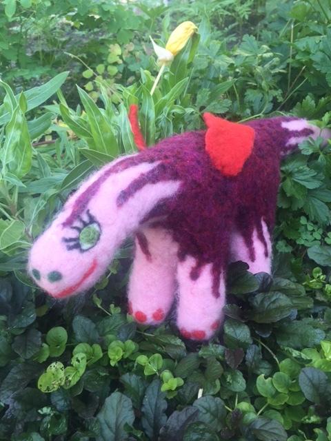 Stella Rose. A dragosaurus.