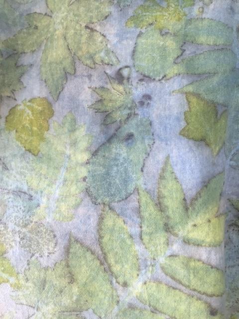 Detail of floursack top.
