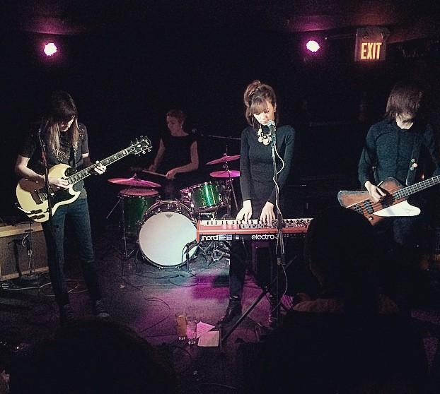 Overnight at Duffy's Tavern, Feb 28, 2015   Photo credit: Bryan Lee O'Malley