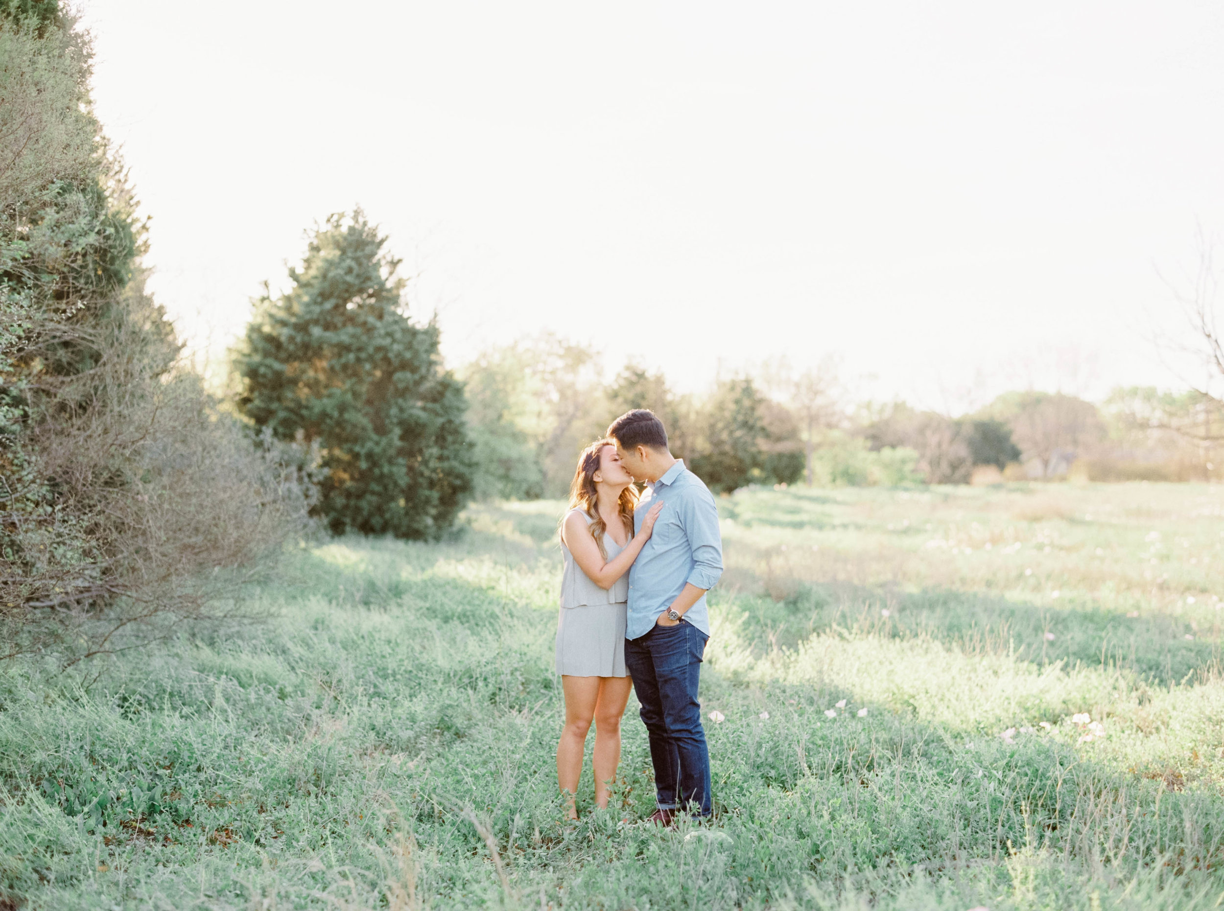 Esther + Daniel | Engagement Session at Mueller Lake Park, Austin TX