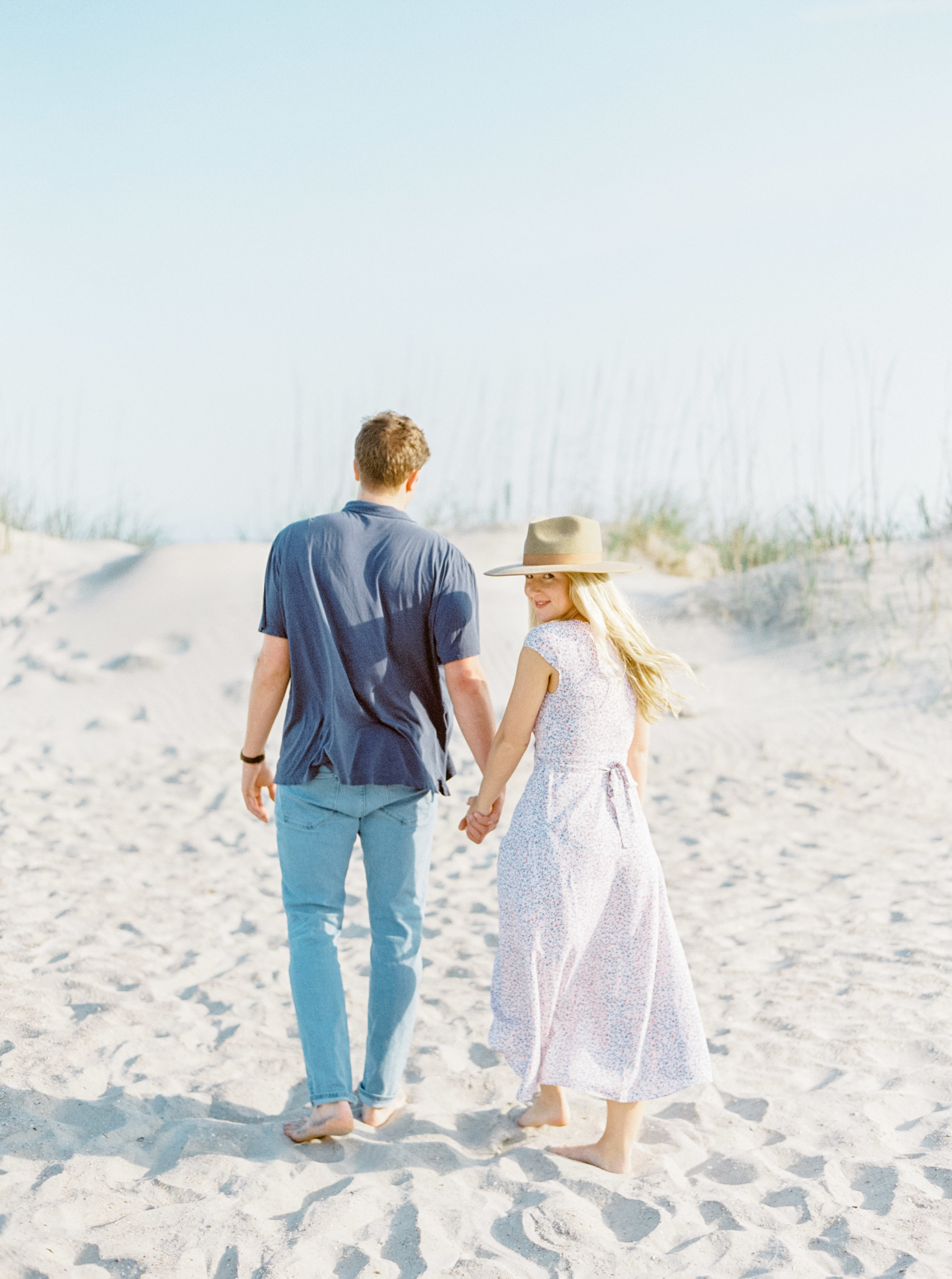 Allie + Miles | Engagement Session on Tybee Island, GA