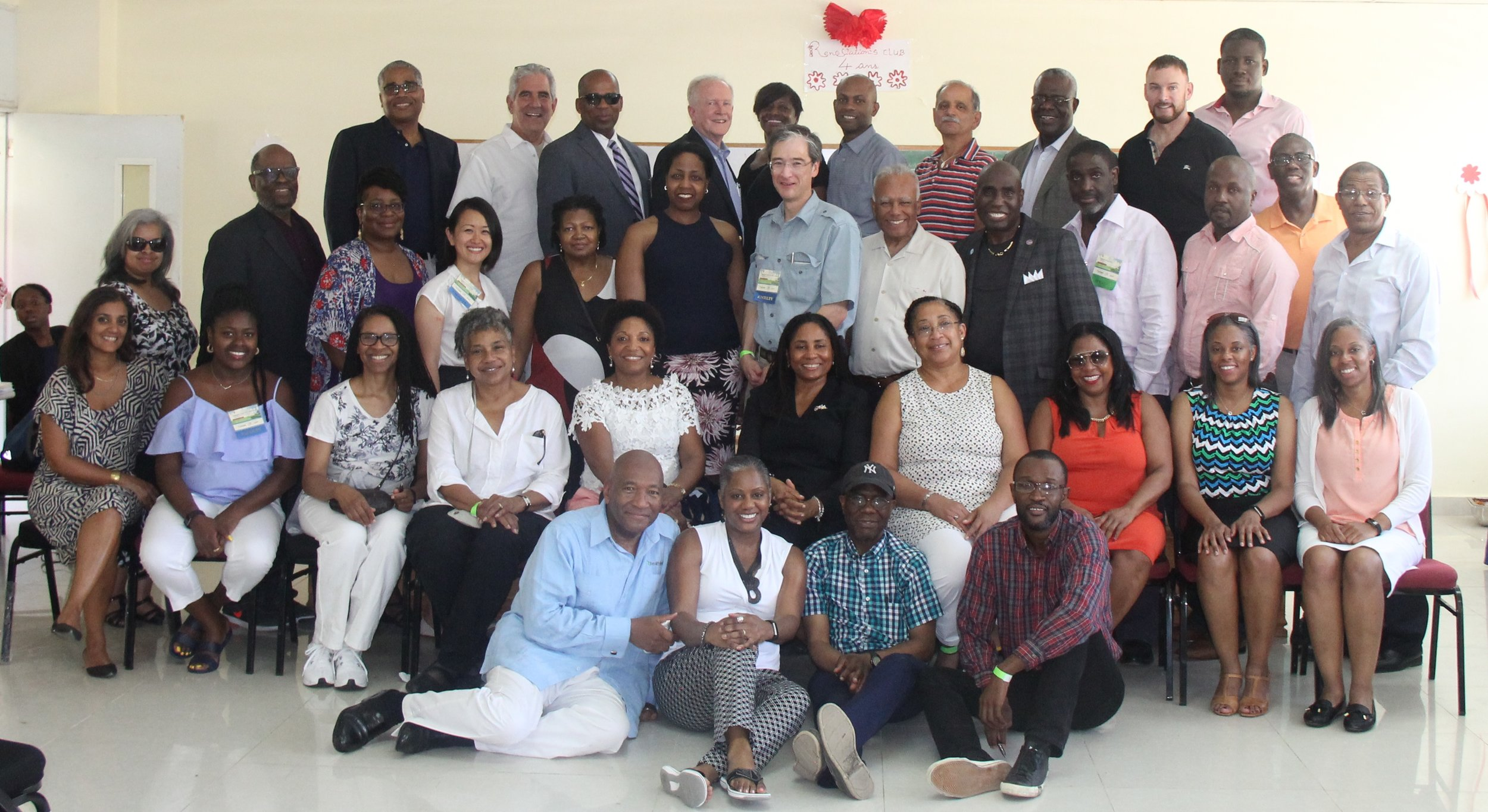 "Staff and faculty of ""World Health: Special Focus on Haiti"""