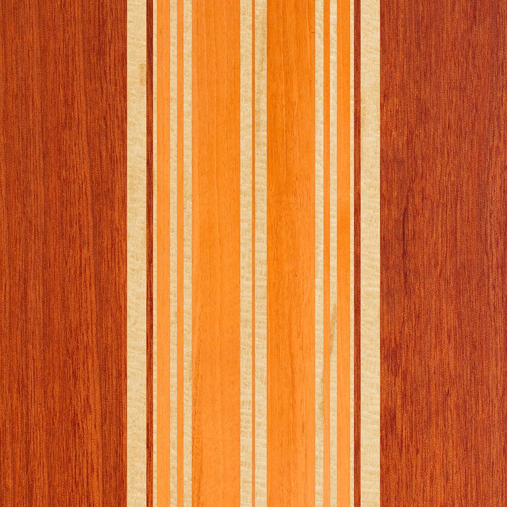 Nalu Lua Faux Koa Wood Surfboard - Amber