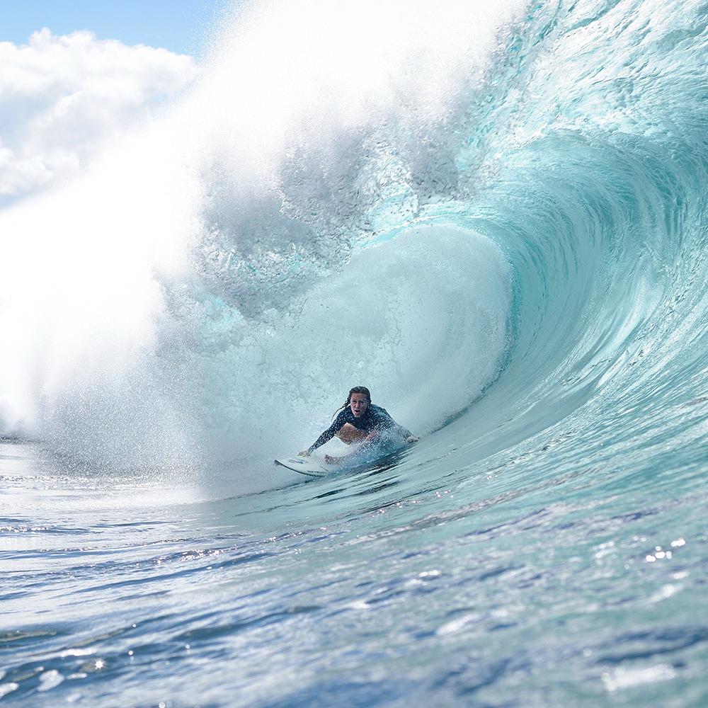 Surf Legend Rochelle Ballard Surfing Hawaiian Wave