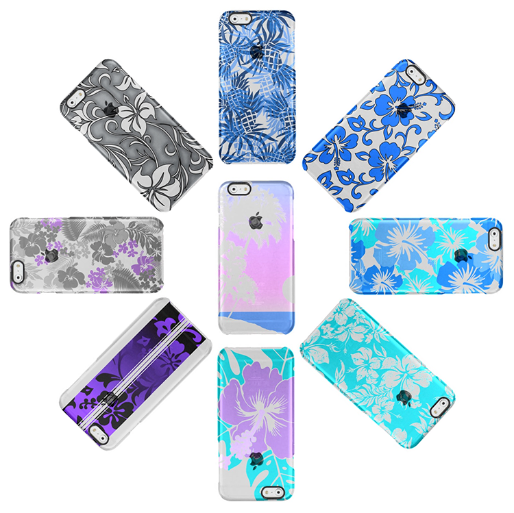 She comes in colors: There's an Uncommon clear case perfect for you. Each design is available in several different colorways.