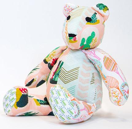 RARE Bear program with Spoonflower fabrics (credit: Spoonflower)