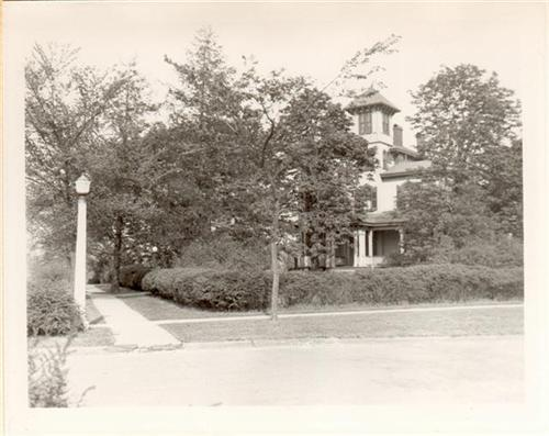 Breeze Hill, former residence of J. Horace McFarland, is located in Bellevue Park