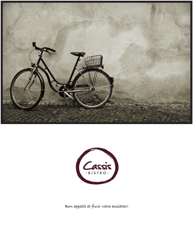 Cassis Bistro Menu cover