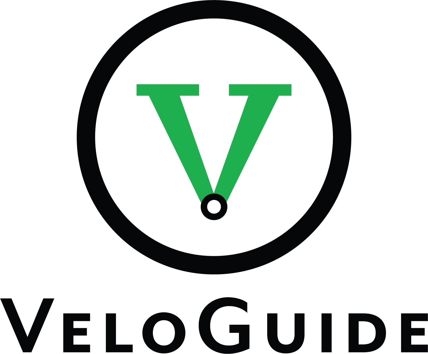 VeloGuide logo design