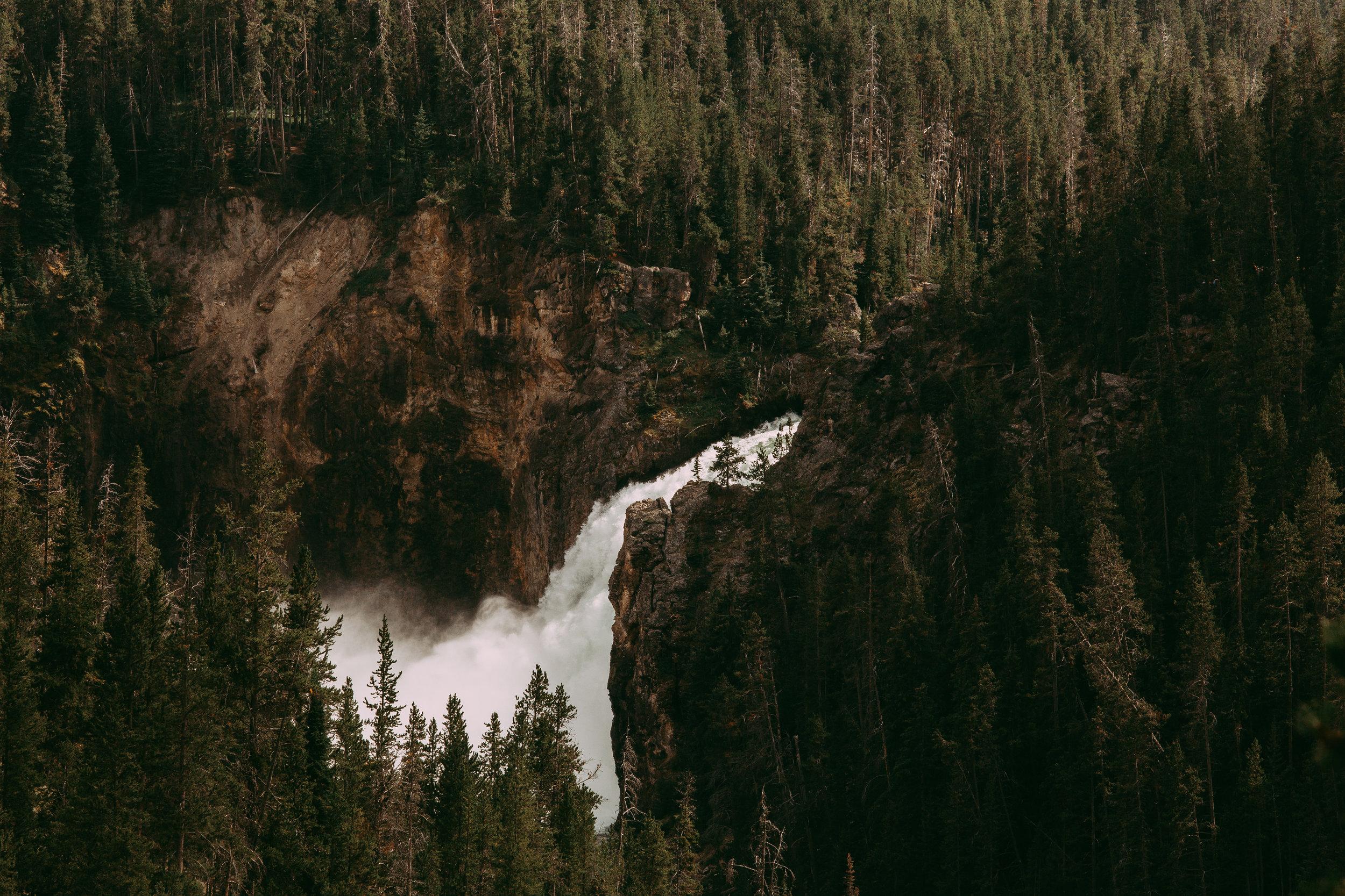 Upper Falls, Yellowstone