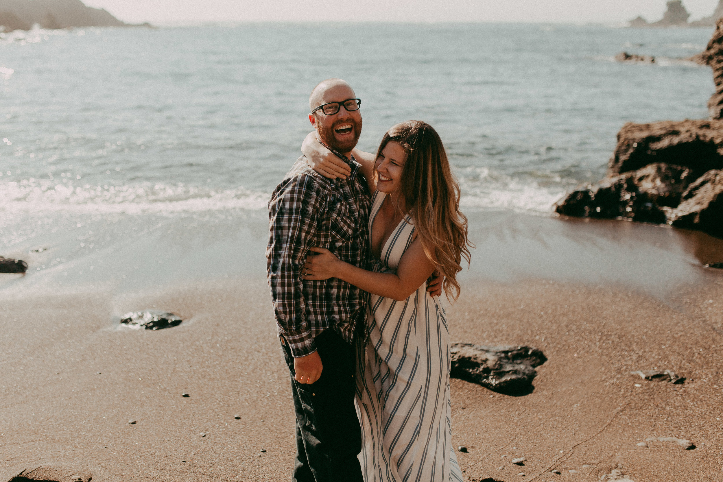 mendocino engagement session