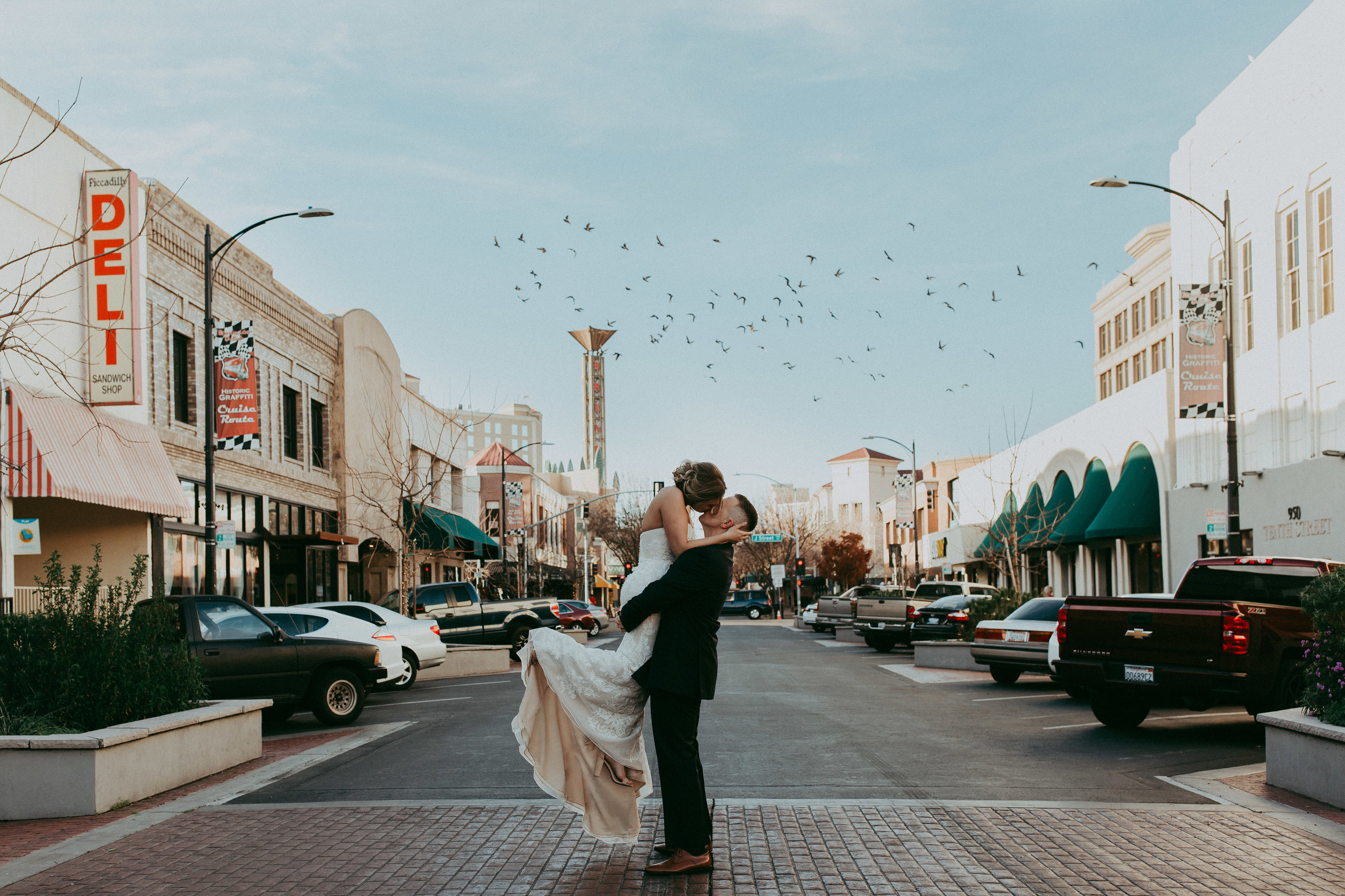 magical modesto wedding