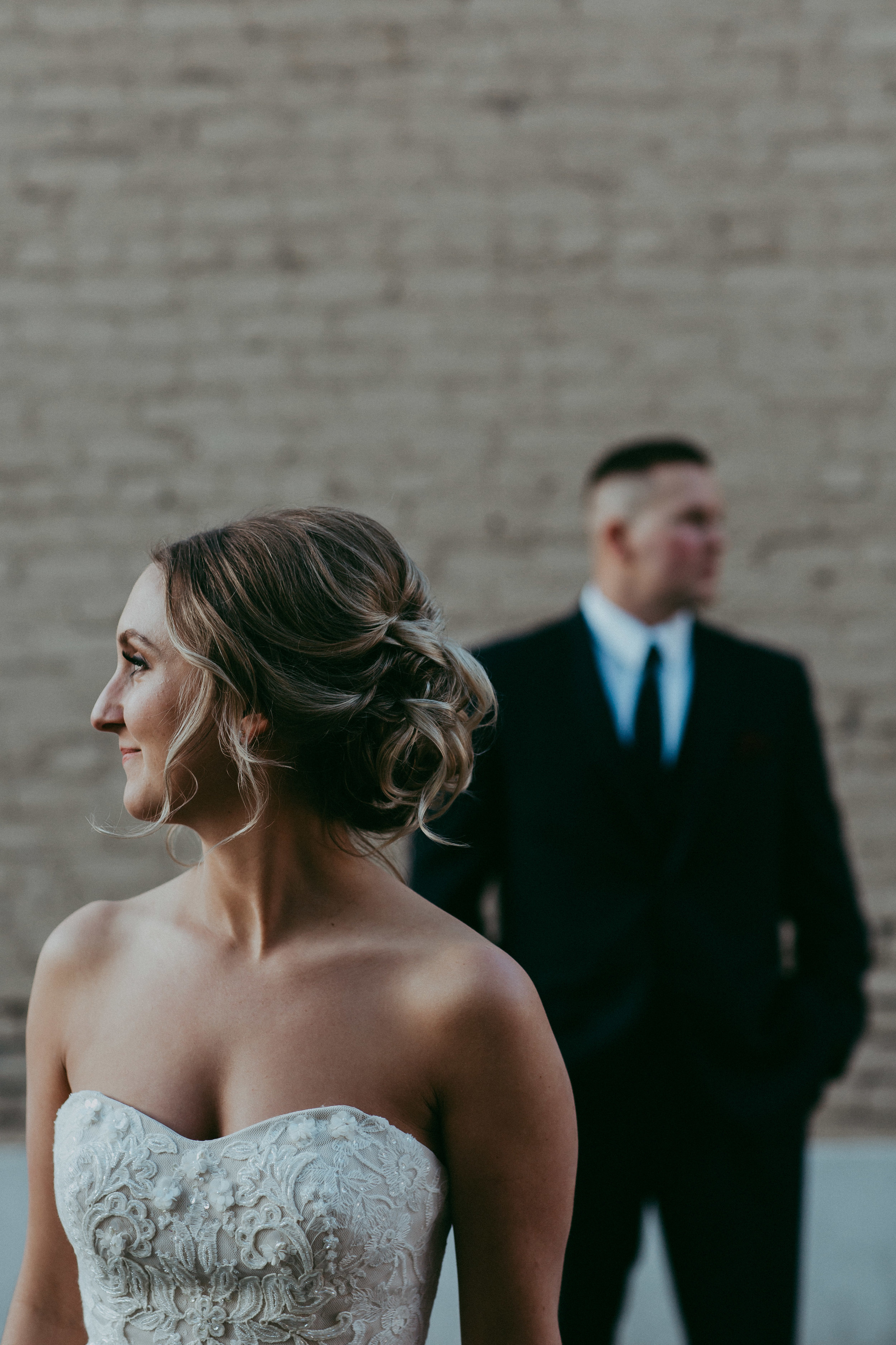 urban rustic wedding