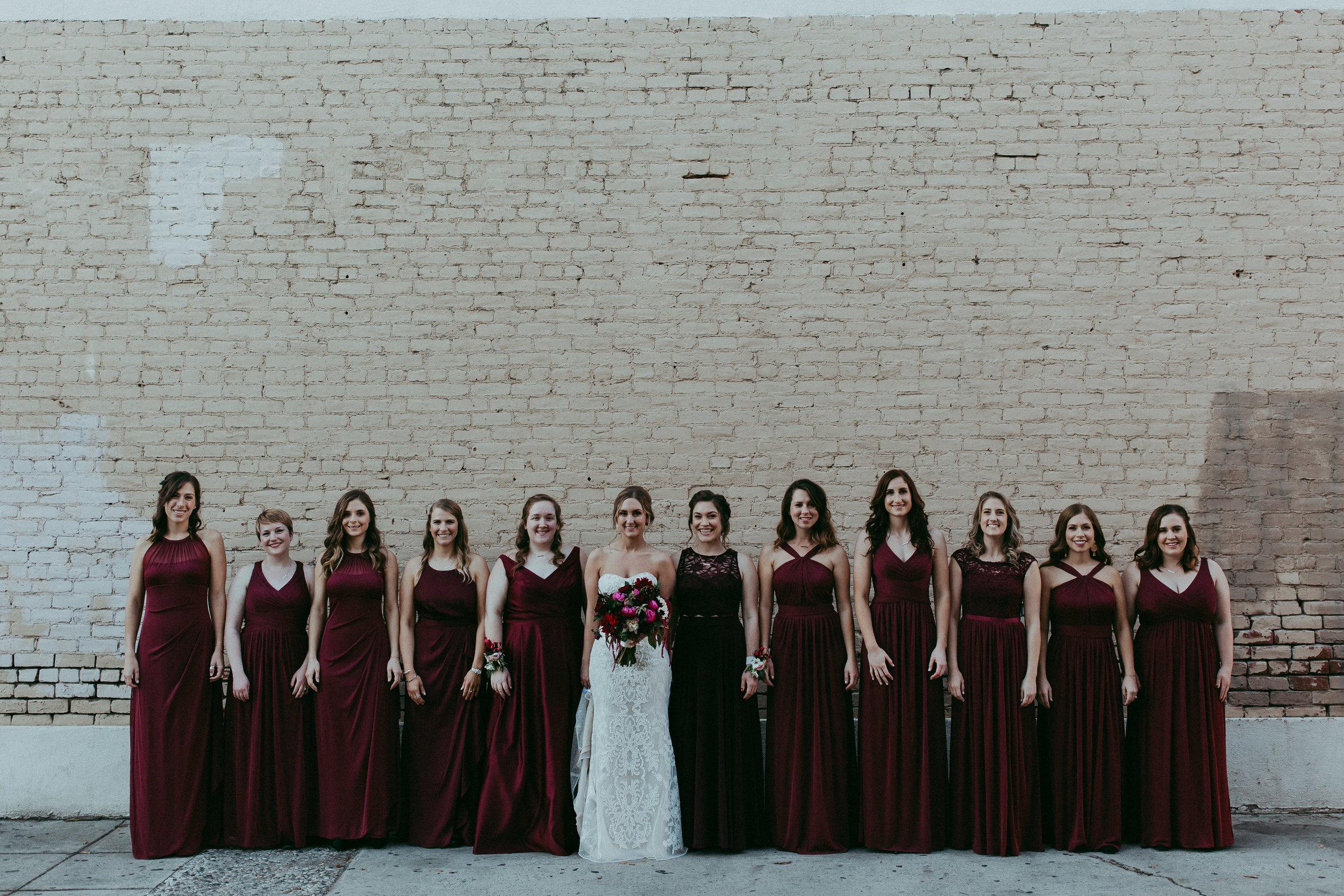 bridesmaids in modesto