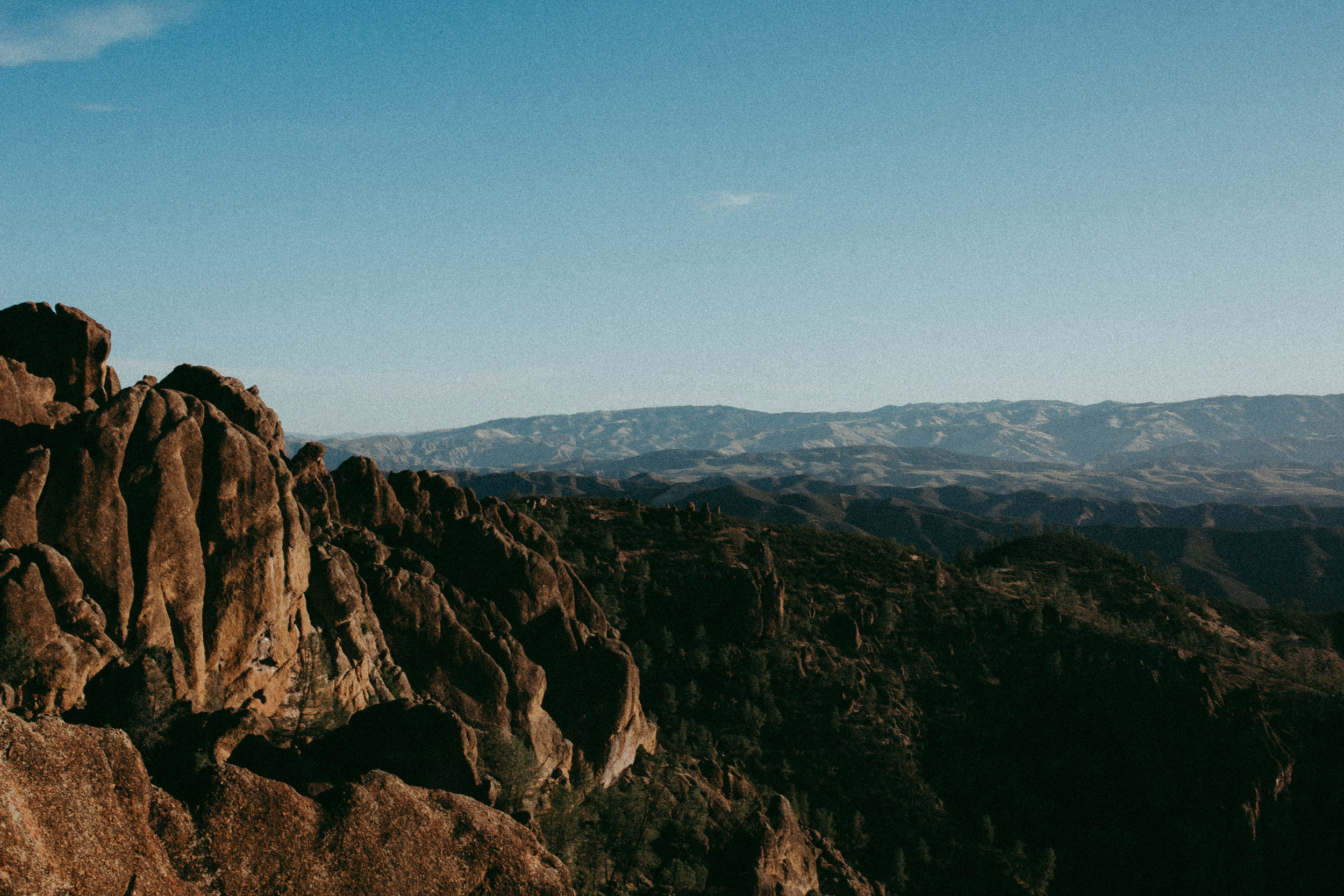 sunrise at pinnacles