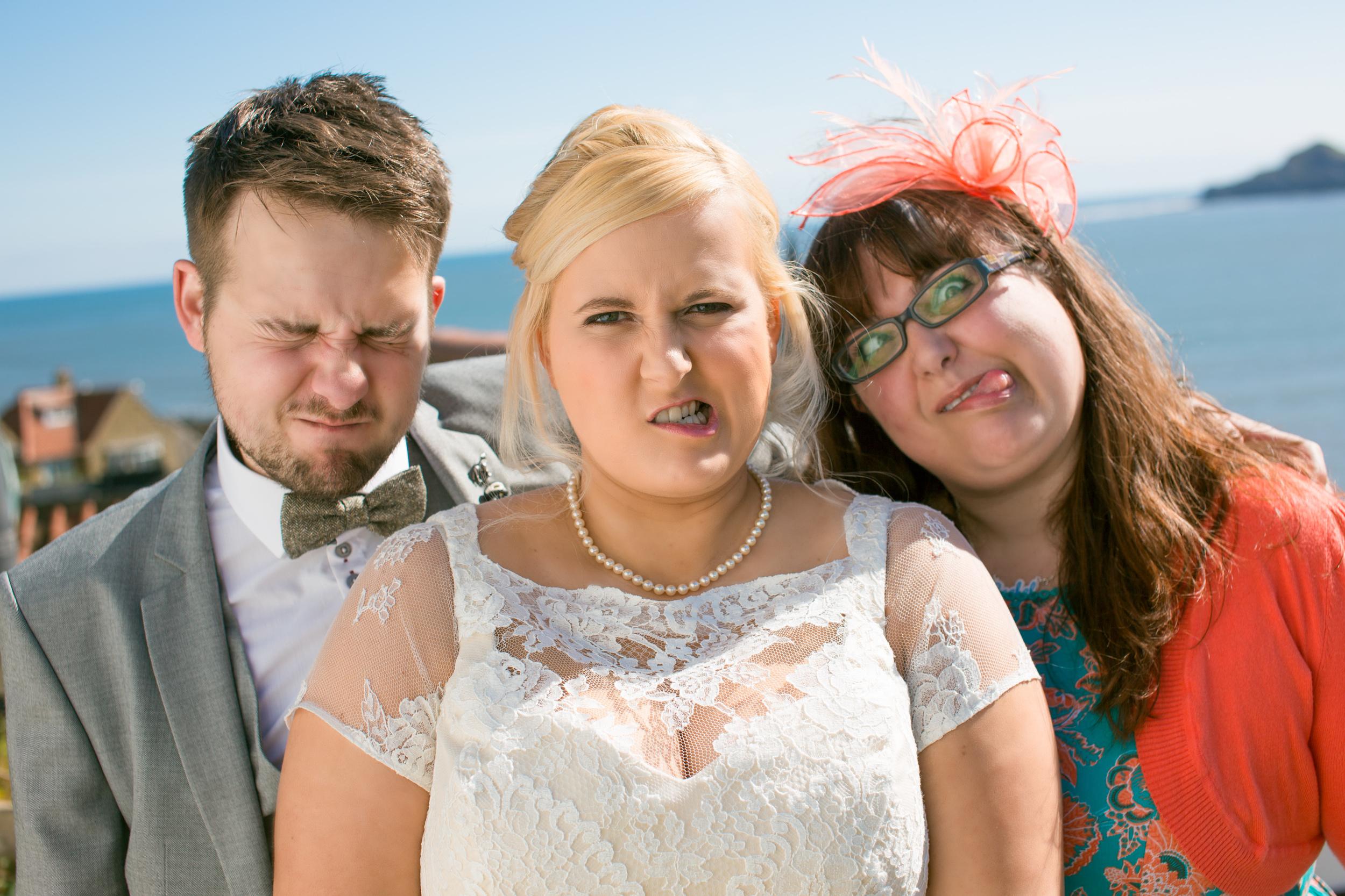 Yorkshire Wedding Photography - Anna & Alex at Runswick Bay