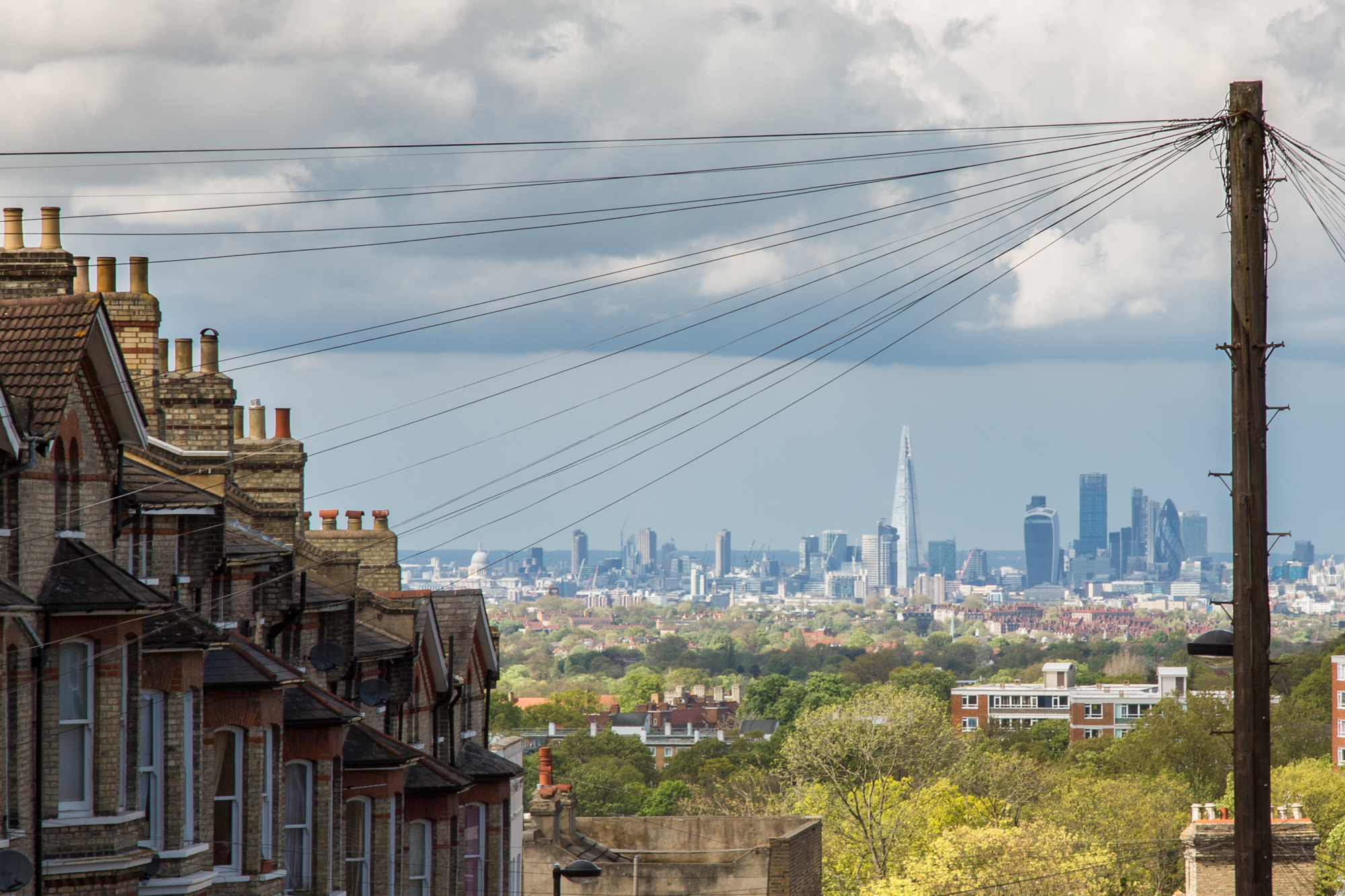 London from Crystal Palace