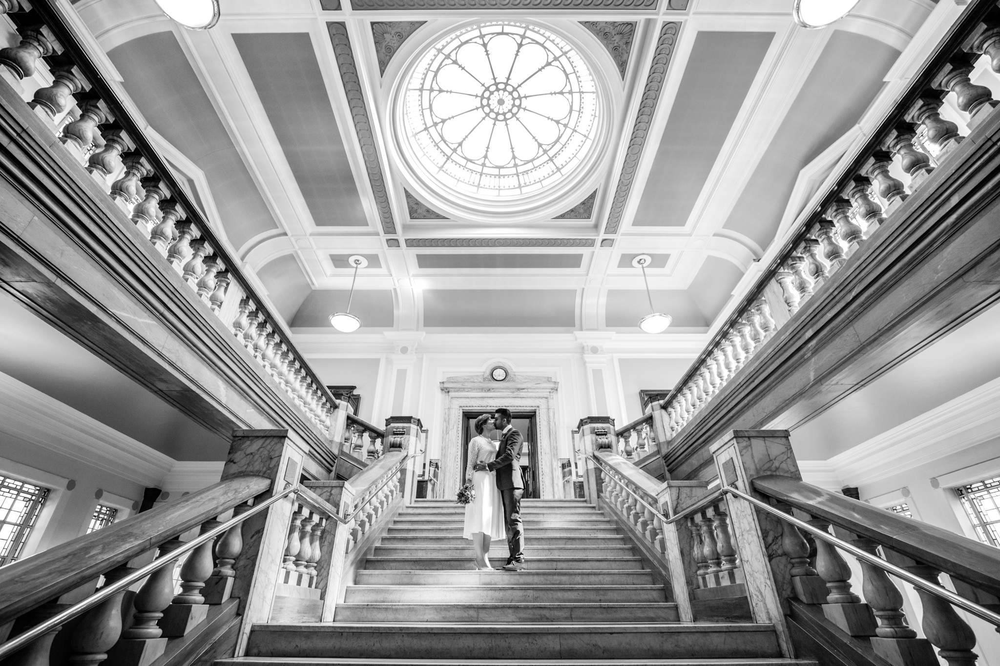 Islington Town Hall Wedding Photography - Alice & Rohit