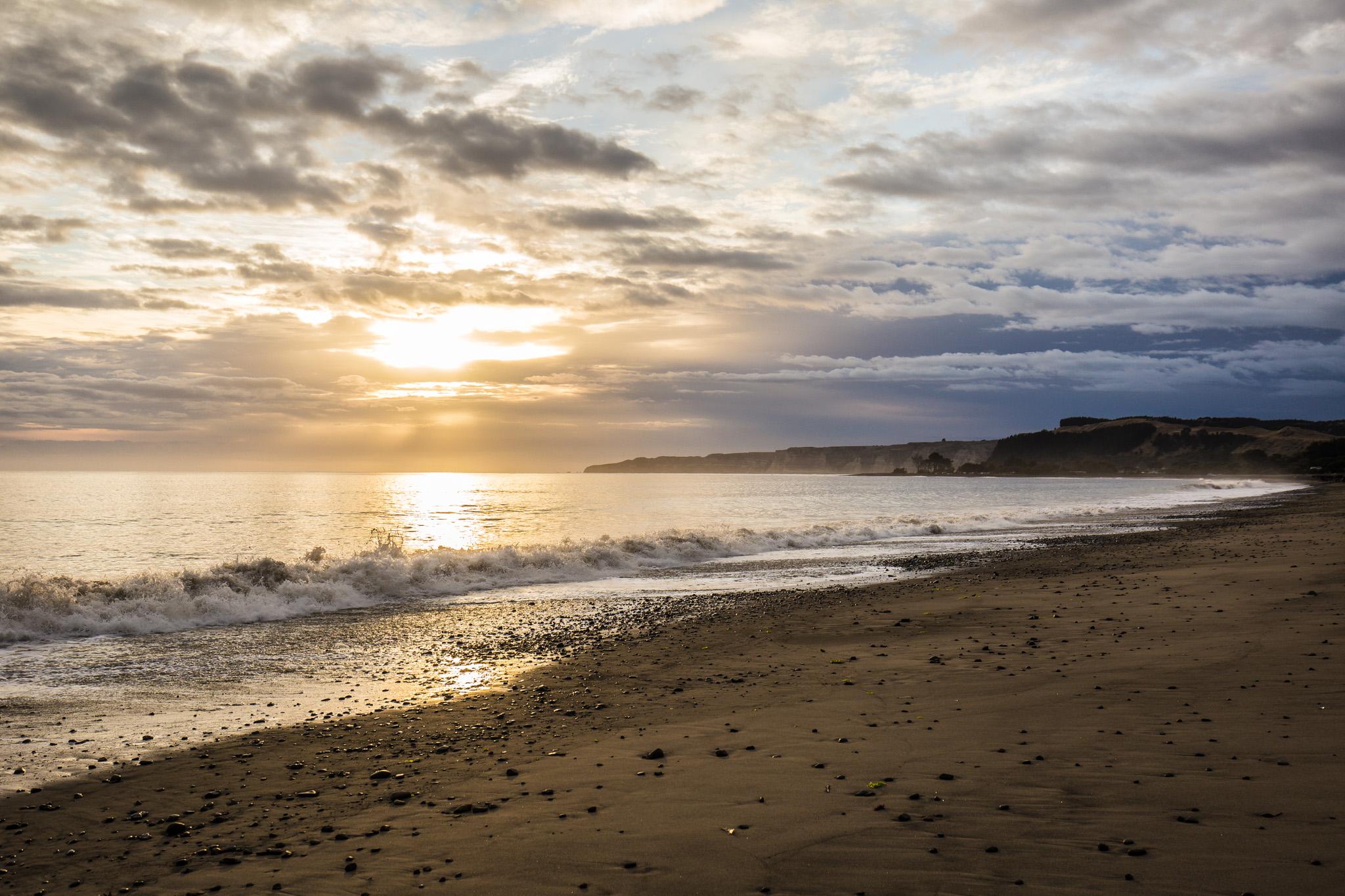 Sunrise over Hawke's Bay