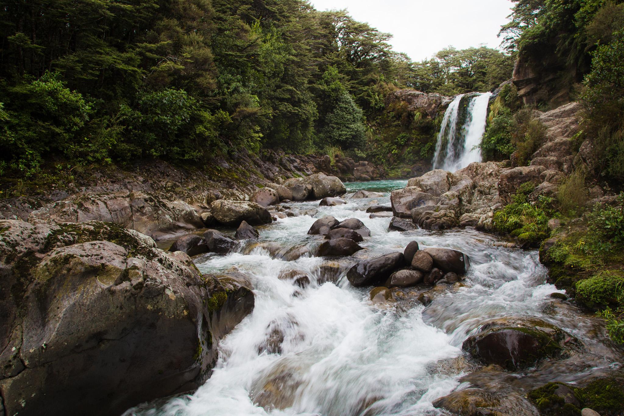 Waterfalls in Tongariro National Park