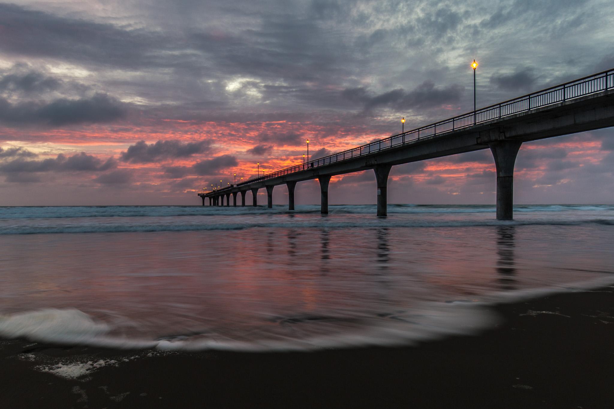 New Brighton Pier at Sunrise