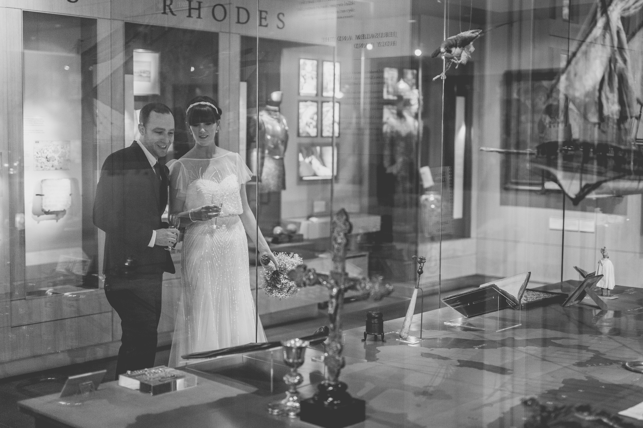 London Wedding Photography - Lisa & Jake at the Museum of the Order of St John
