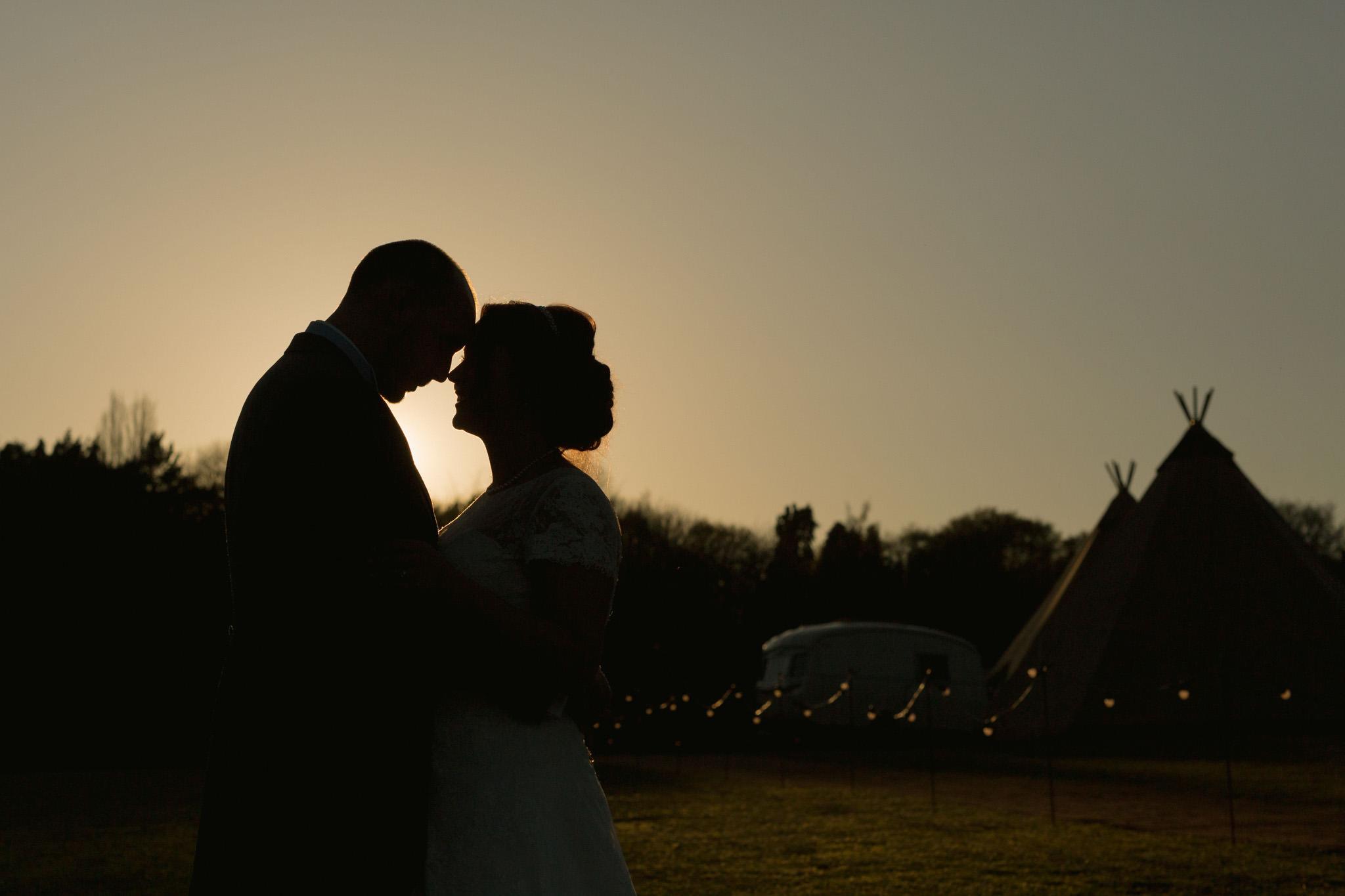 Country Tipi Wedding - Abi & David
