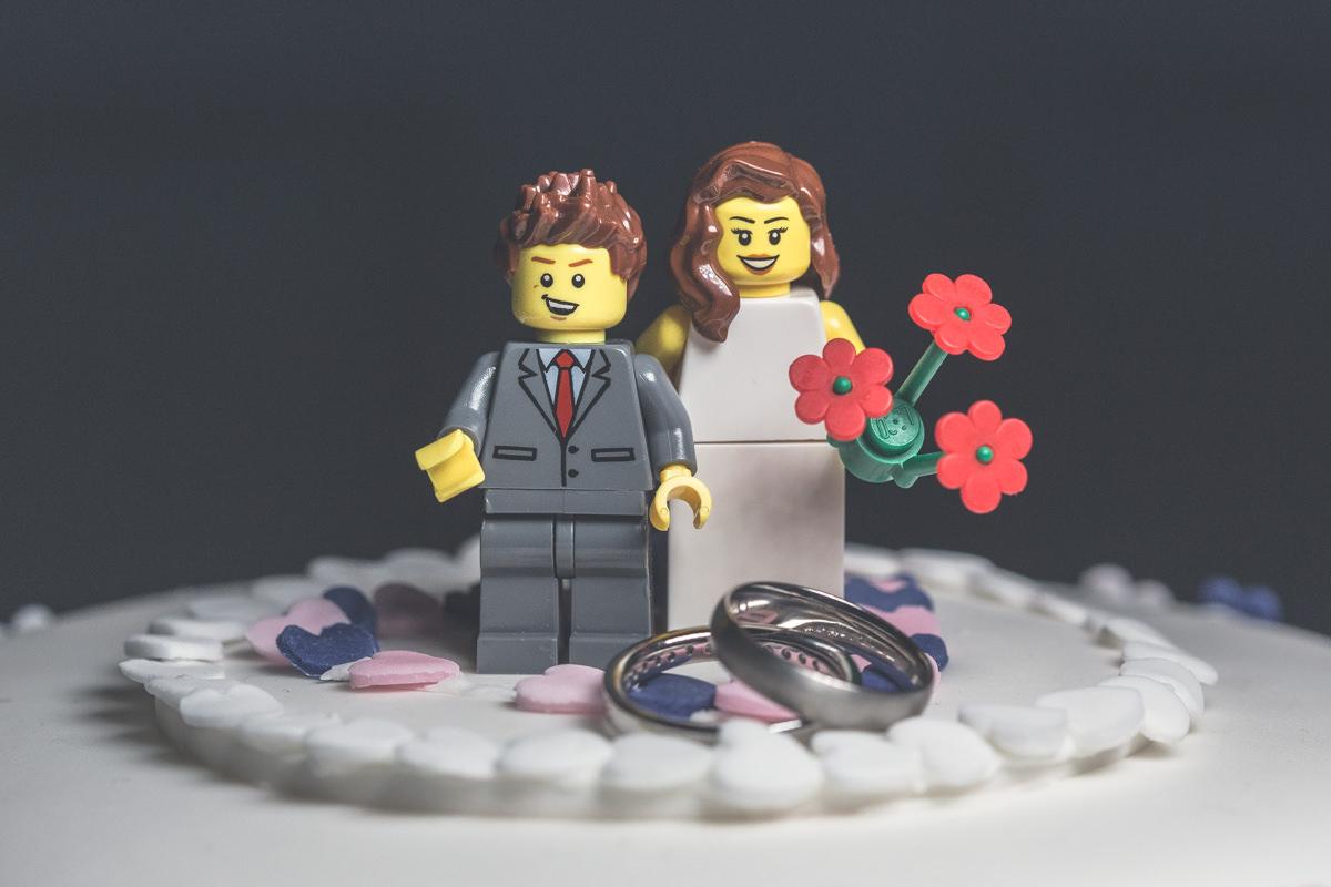 Latimer Estate Wedding Photography - Lego Cake
