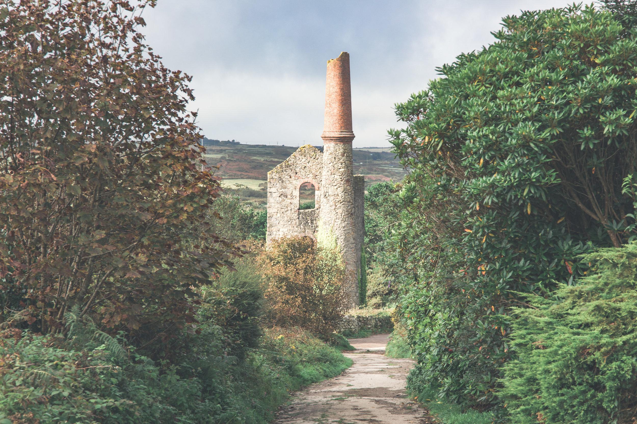 Tin Mine in Carnmarth, Cornwall