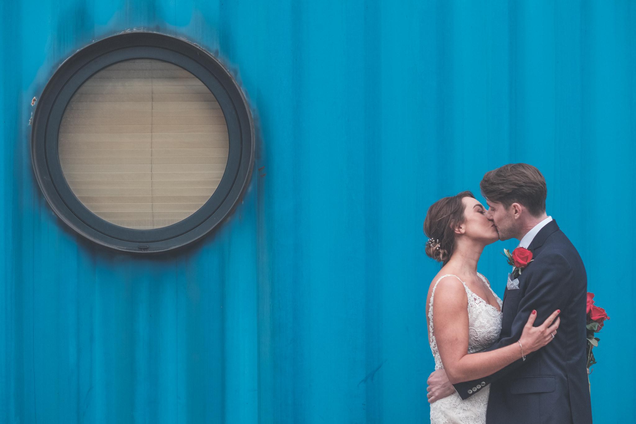 Trinity Buoy Wharf Wedding Photography -  Matt and Leila