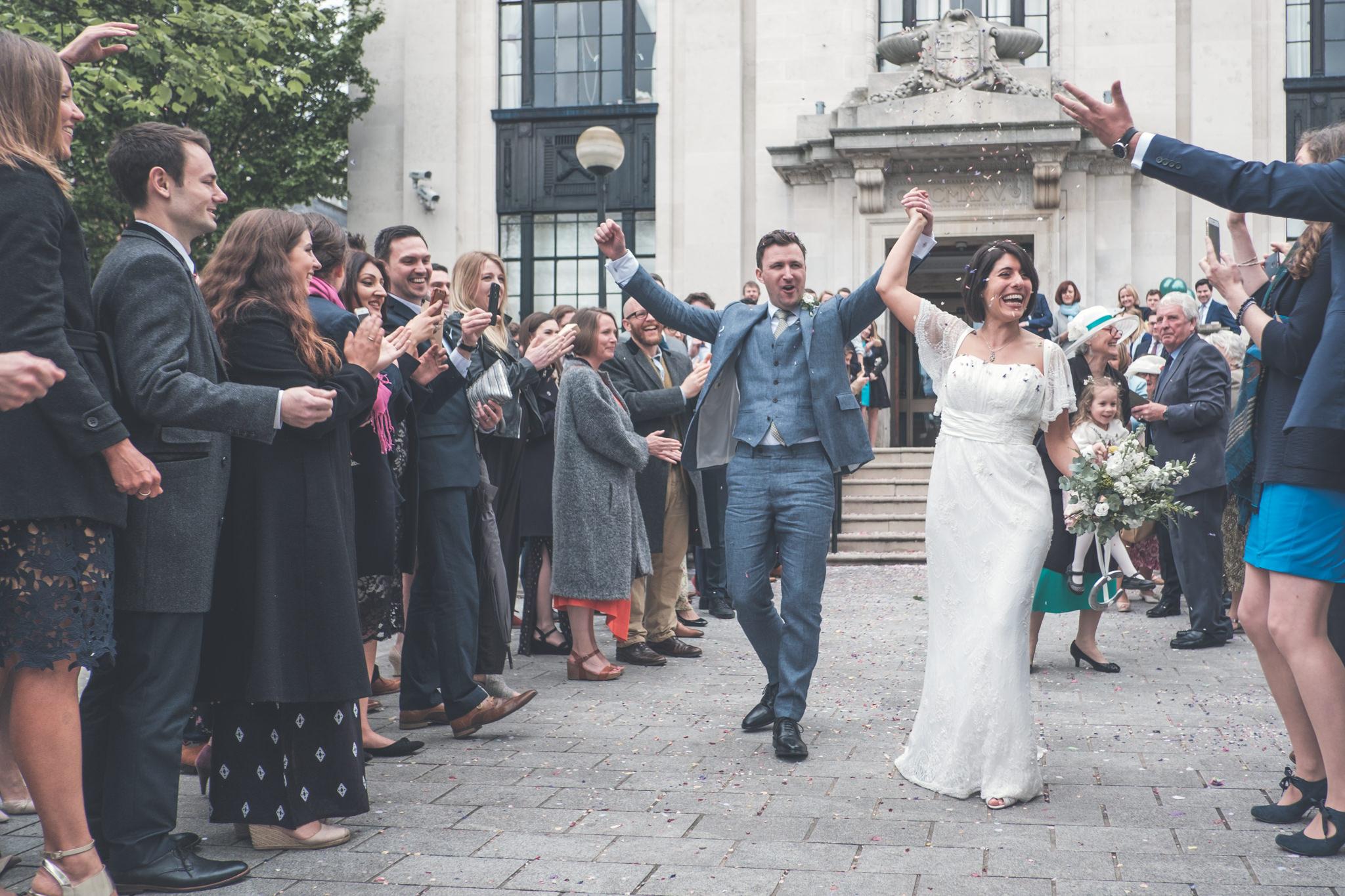 Islington Wedding Photography - Maryam and Adam