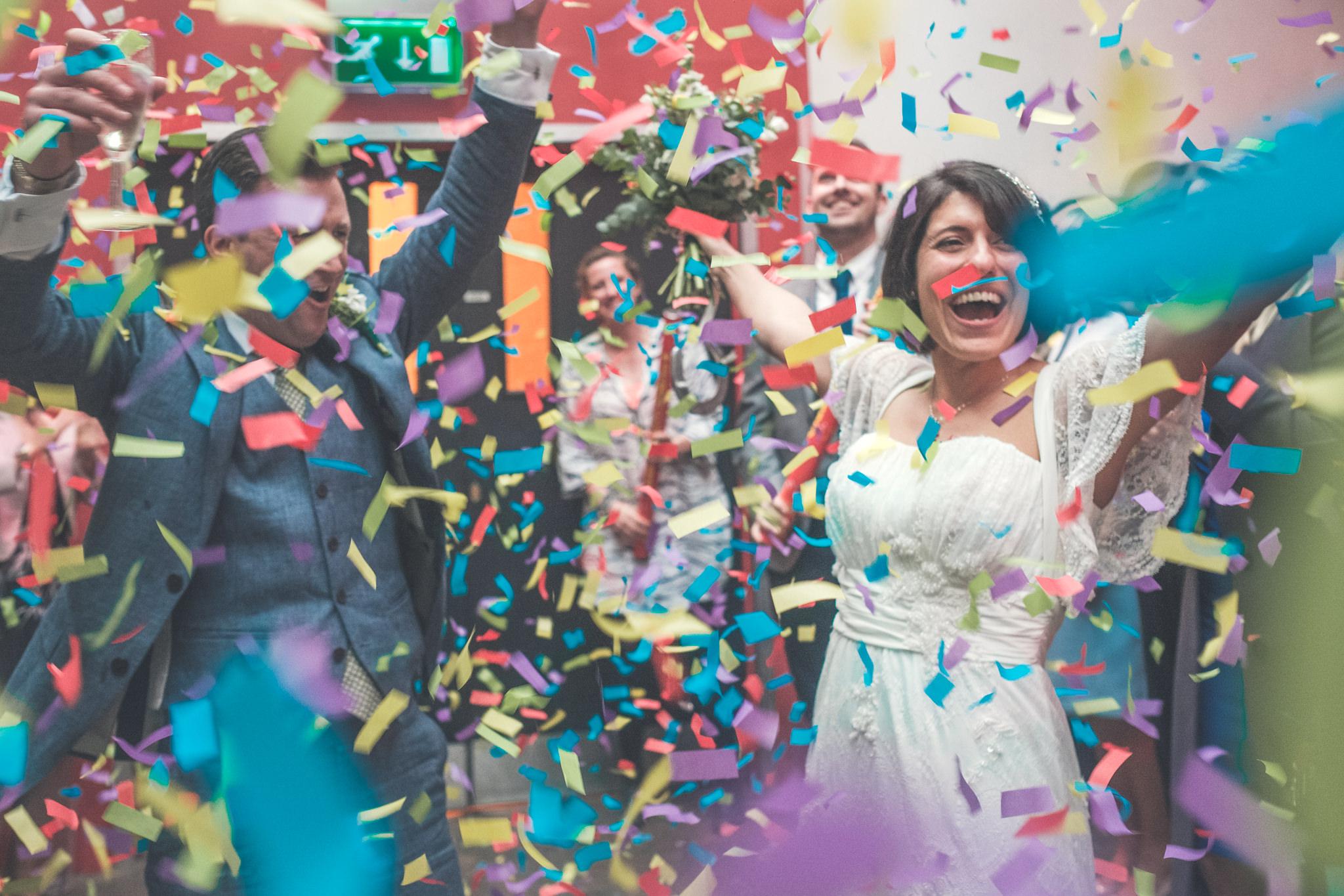 Islington Metal Works Wedding - Maryam and Adam