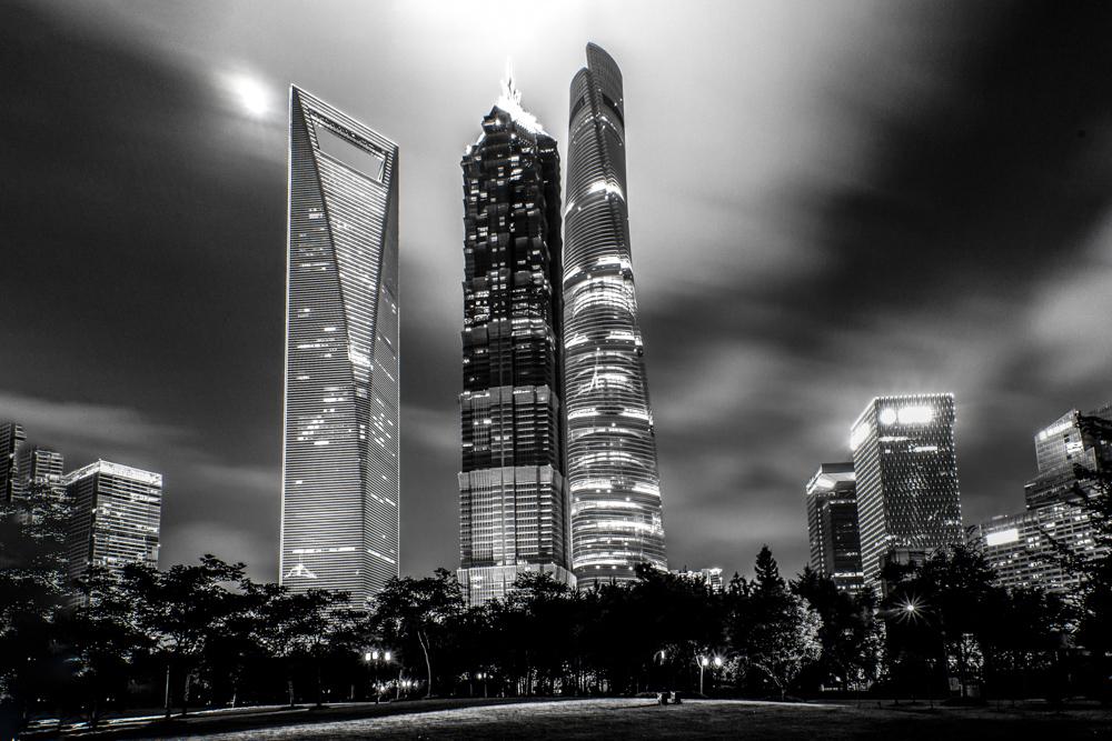 The Big 3 - Shanghai World Financial Center, Jin Mao Tower and Shanghai Tower