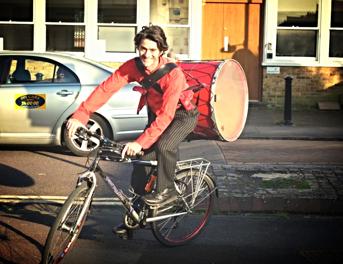 Bike and Drum (Oxford)