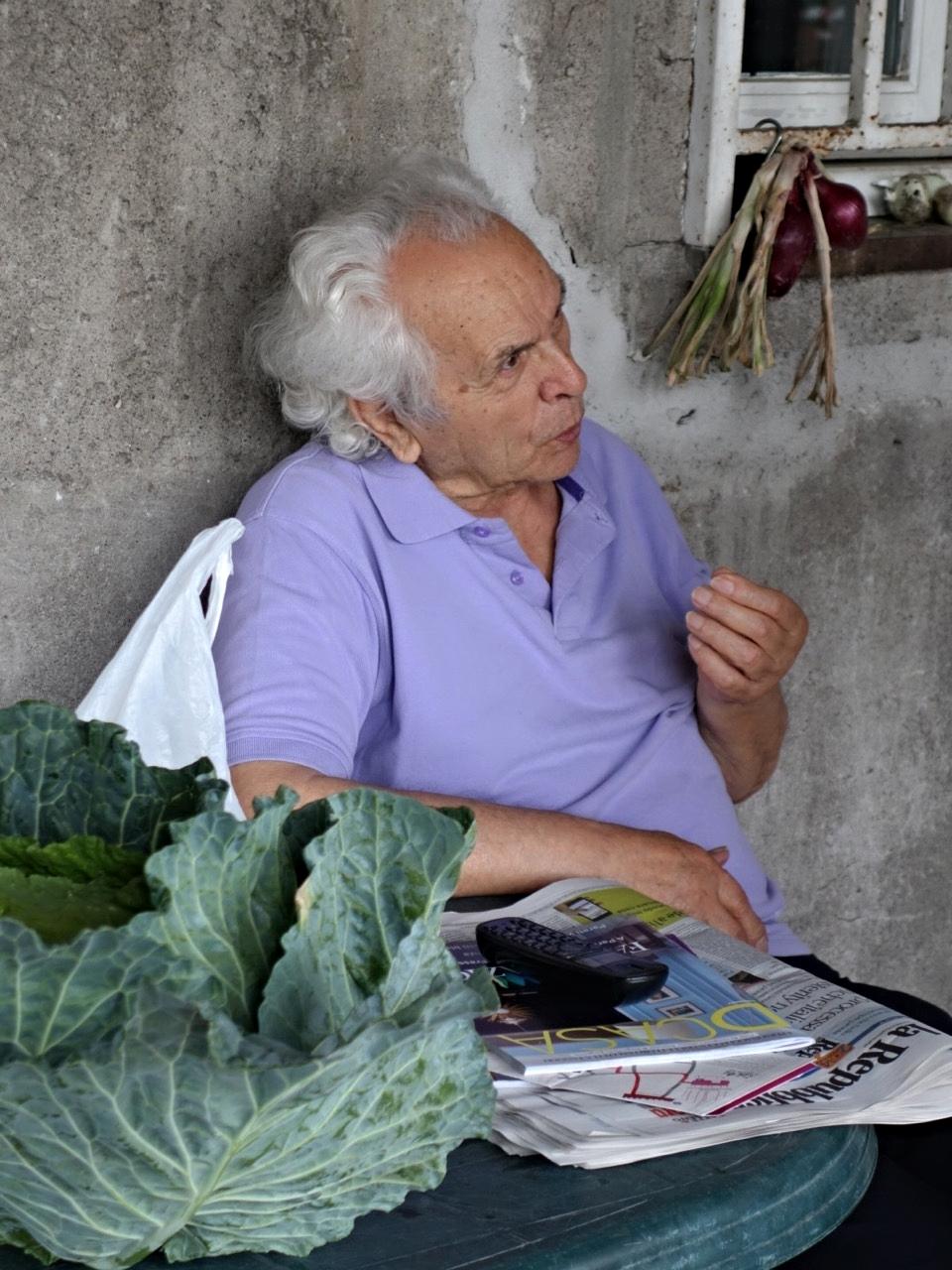 Zio Pinuccio Explains (Scafati, Italy)