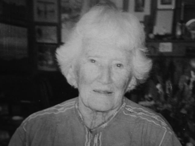 Jane Hollister Wheelwright, 1997. (Photo by Elise Cossart)