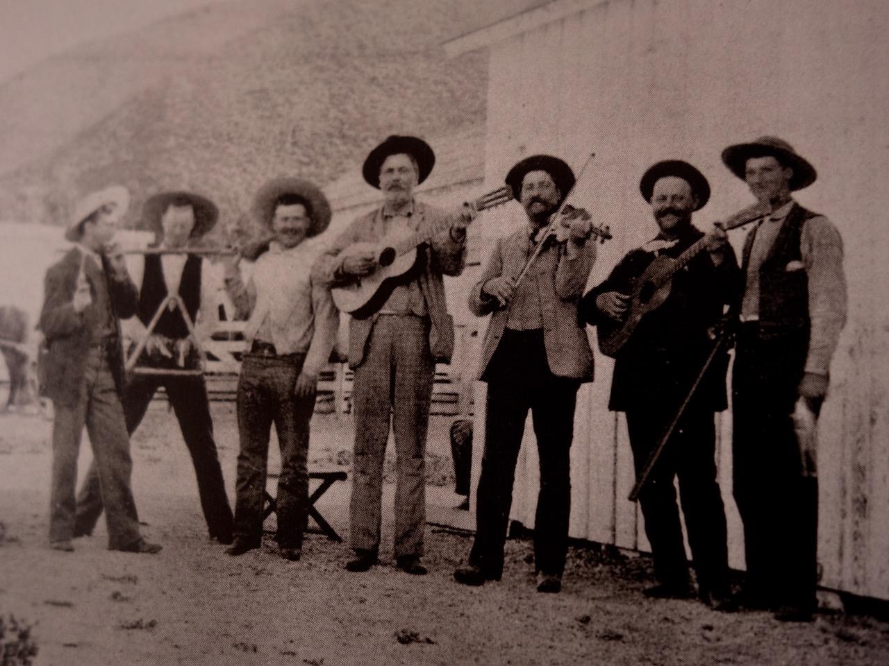 Musician Cowboys, 1900s