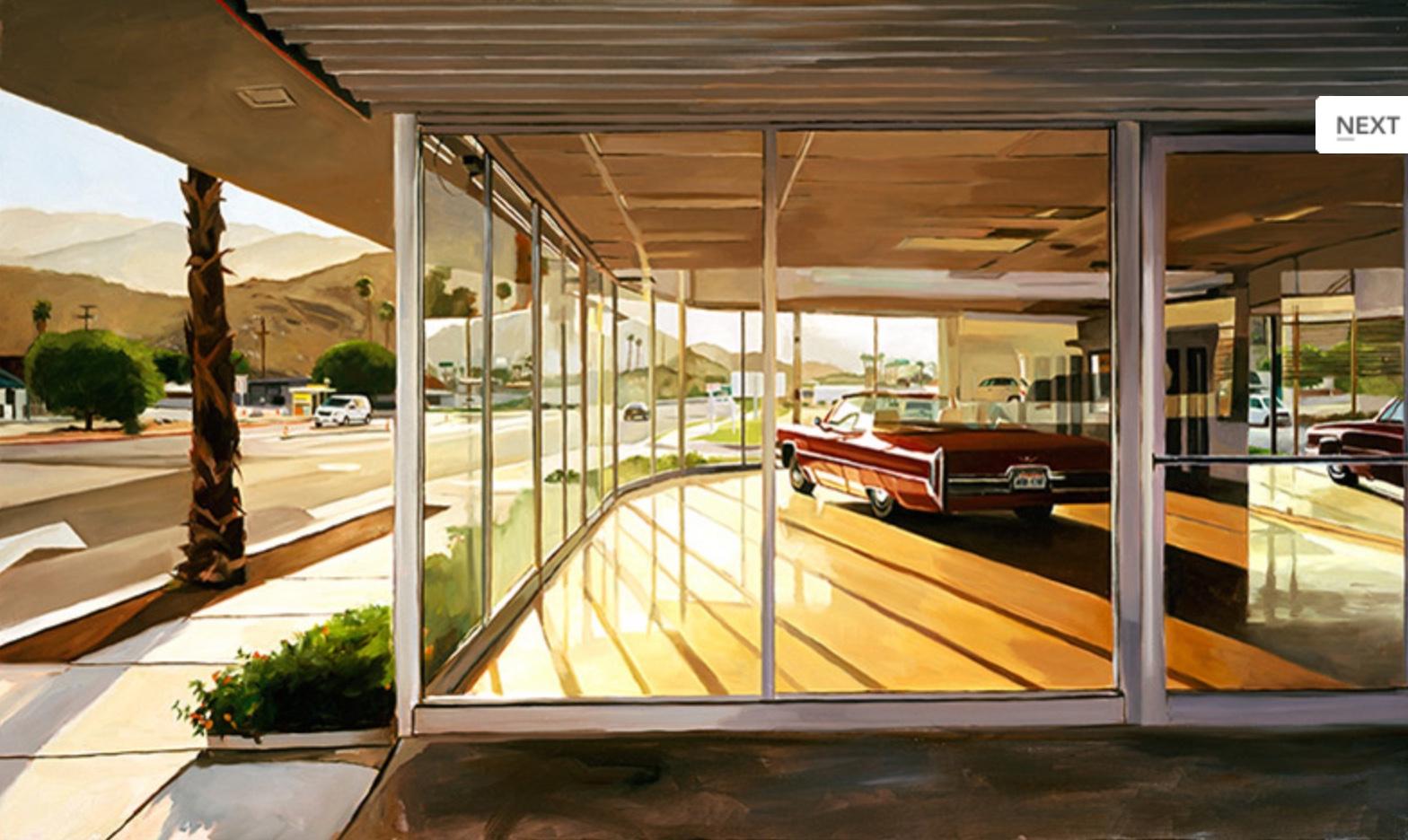 Palm Springs Showroom, 24x30 (2008)