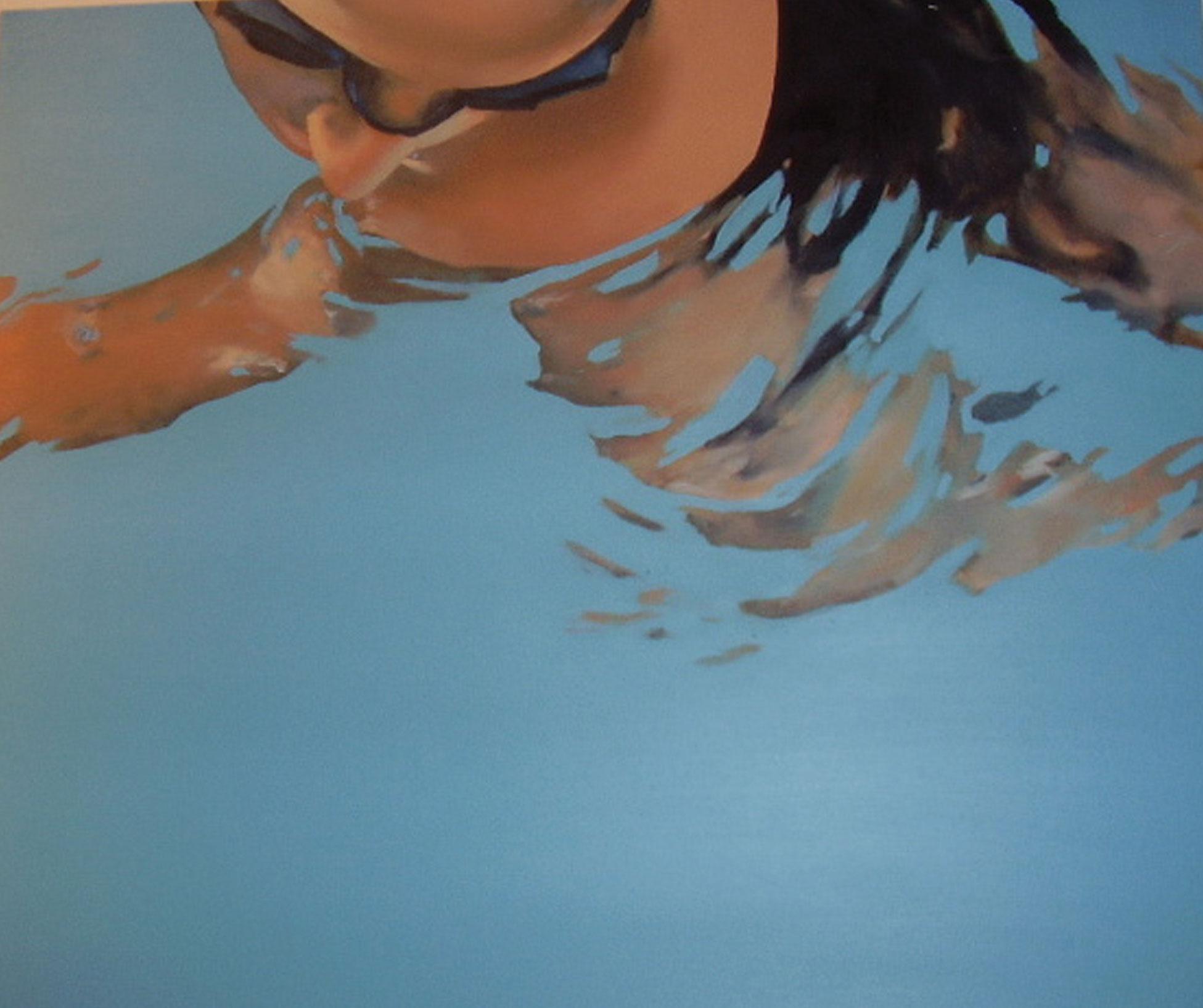"""Gafas azules"" 50 x 60 cms - 2006"